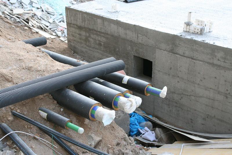 Teplovodní potrubí